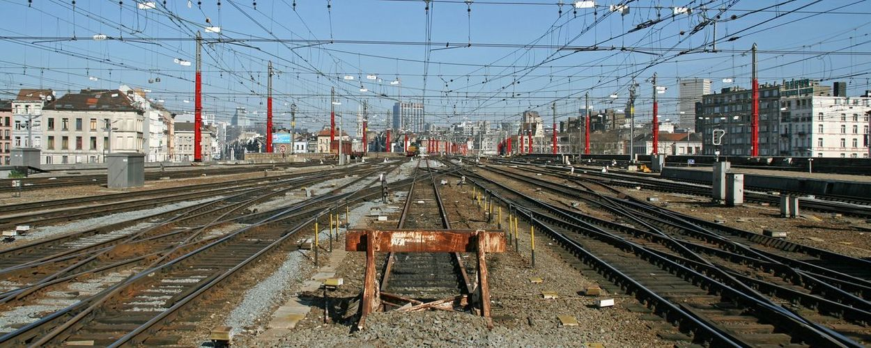 Brussels Cityscape Urban Photography Railwaystation Urbanity Gare Du Midi Pierredecafmeyer