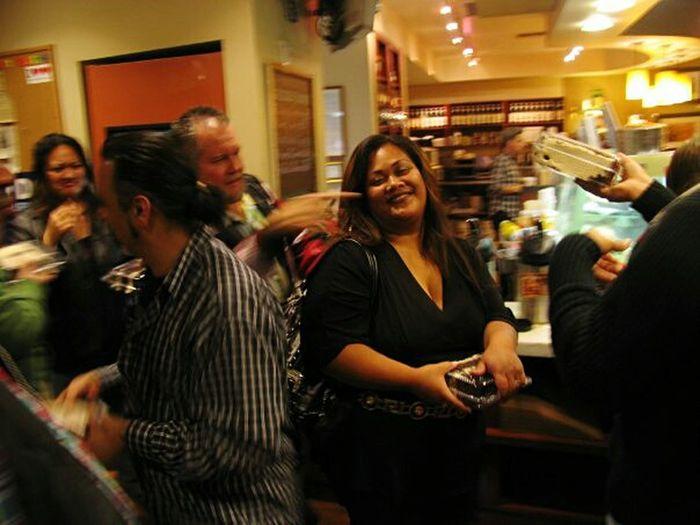 Live Love Shop Hot Java Cafe Long Beach, California USA  Capturing Motion