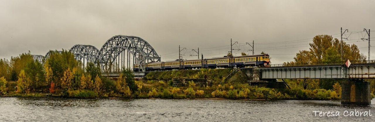 Transportation Train Lativia RigaCity Bridgesaroundtheworld Bridge Photography