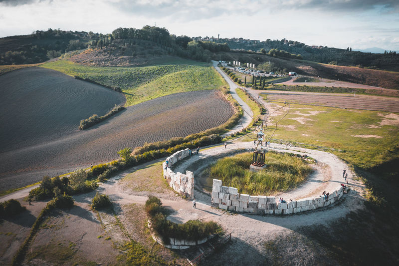 Theater of silence in lajatico, tuscany