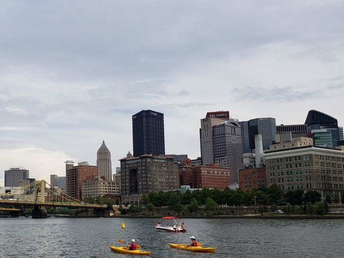 Kayak Kayaking Pennsylvania Pittsburgh Pennsylvania Beauty Tranquility Tranquil Scene Business Finance And Industry Reflection Beautiful Paddleboarding People Transportation Leisure Activity Tourism City Cityscape Urban Skyline Water Modern Skyscraper Bridge - Man Made Structure Downtown District City Life Nautical Vessel Office Building Waterfront Boat Water Vehicle River The Great Outdoors - 2018 EyeEm Awards The Traveler - 2018 EyeEm Awards The Architect - 2018 EyeEm Awards