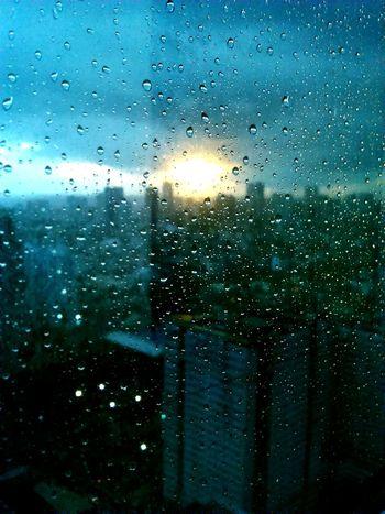 Cold is warmth City Life Buildings Sunset Raindrops Retrospect Retrospective Urban Lifestyle First Eyeem Photo