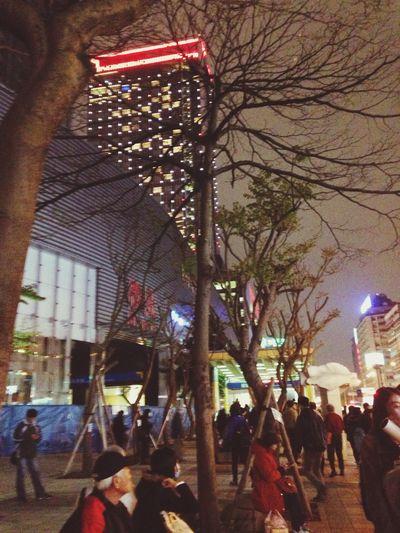 在外遊走一整天,回到台北的感覺真好~