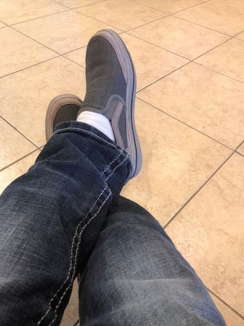 People in shoes