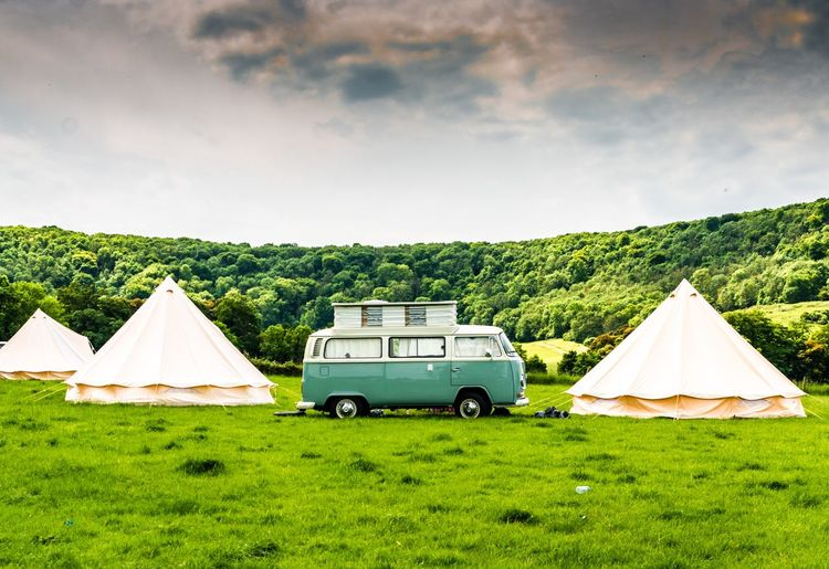 I'll go wherever you will go! Retro Campervan Vw Camper Van Camping Vintage Vehicles Nature South Downs Way West Sussex Woods Camp Site Camping Camping Trip Trip Trees Adventure Tents Glamping VW Field Hill United Kingdom England Green Camp Summer