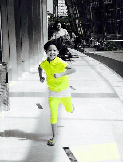 Children Photography Movement Running Street Photography Jakarta Indonesia Happy Kidsphotography City Life IPhoneography EyeEm Best Shots Portrait Photography Children's Portraits Eye4photography  EyeEm Gallery EyeEm Best Edits EyeEm EyeEmBestPics Running Girl People Popular