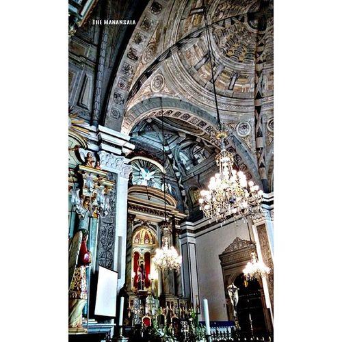 Altar Visitaiglesia2014 Lenten Travel Themanansala architecture HDR holyWednesday