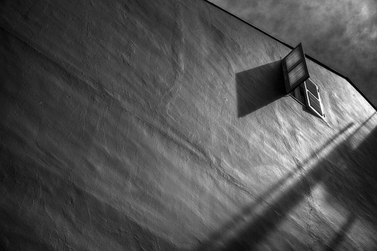 Close-up Day High Angle View Light And Shadow No People Outdoors Shadow Wall - Building Feature Window