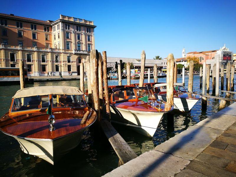 Taxi!! Travel Destinations Venice Canals