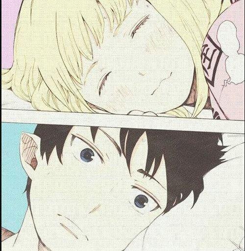 Photo Anime Ao No Exorcist Cute♡ te amo mi mure n.n