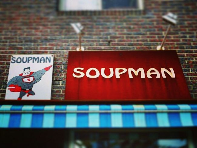 Call me soupman :)