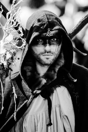 Portrait of man in costume