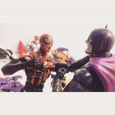 """""""I want in,on your little group"""" """"Hahahaa..well you got balls kid I give yah that..sure..you're in."""" Superiorspiderman Spiderman Marvellegends Mastersofevil Octooctavius Grimreaper Tigershark Yellowjacket Nerd Comics Tcb_peekaboo Tcb_flyupandaway Hydra Toyphotography Toycollector Toys4life Toysmydrugs Toyunion Anarchyalliance Toycommunity Collector Figurecollection Disney Actionfigurephotography Articulatedcomicbook toyartistry actionfigures toycrewbuddiesusa"""
