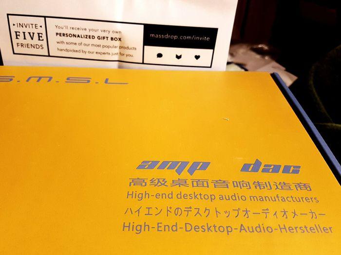 SMSL DAC AMP