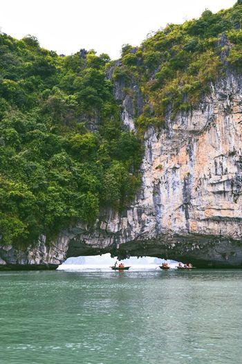 Rock Formation At Ha Long Bay