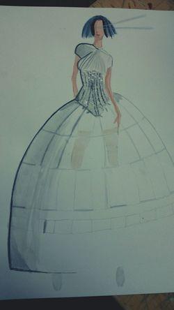 Mon deuxieme dessin Esmod Project