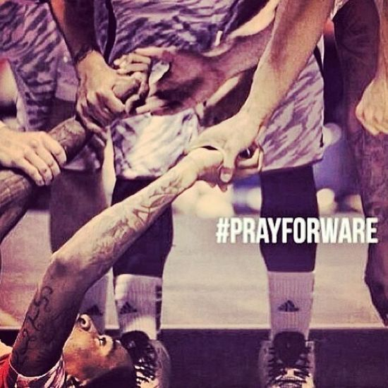 #PrayForWare