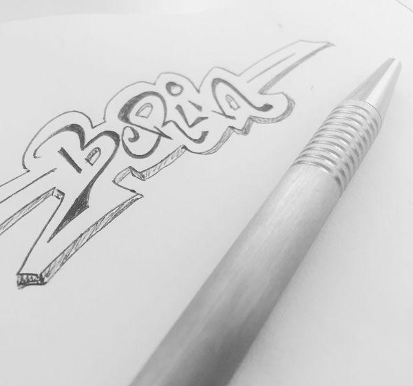 Berlin Blackandwhite Drawing Graffiti Pen Pencil Schwarzweiß Stift UrbanART Zeichnung