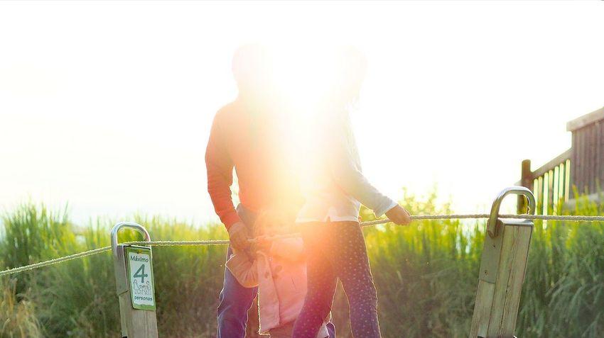 El parque de los Seis Sentidos. Un día especial con Leo y su familia. People Adult Grass Outdoors Day Sky Clear Sky Springtime Sunlight Art Is Everywhere Eyem Gallery Eyeemphoto Eyeem Photography Eyeem Market The Portraitist - 2017 EyeEm Awards Playing EyeEm Selects