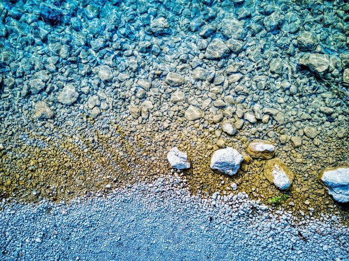 Water & Dust Mavic Pro Mavicpro Dji Dronephotography Drone  Lake Alps Bavaria Day Nature High Angle View No People Land Beach Outdoors Sand Sunlight Full Frame Water Blue Tranquility Beauty In Nature Pattern Close-up Backgrounds Solid Textured  Pebble