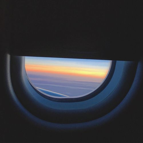 Missing home.✈️😢 Wanderlust Hello World Home Homesick  Taking Photos Sky Airplane Airplane Window IPhoneography Taking Photos EyeEm Best Shots Sunset Iphoneonly Traveling