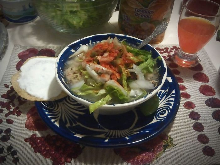 Mexico Food Mexican Food Pozole Delicious. I love Mexico. I love my country, I love the traditions and culture of Mexico, I love the history of Mexico and the colors of the flag, I love the nature, the variety of the fruit and the weather of my beautiful country, I love be Mexican.