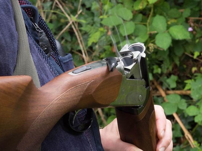 Shooting Smoke Shoot Clay Pigeon