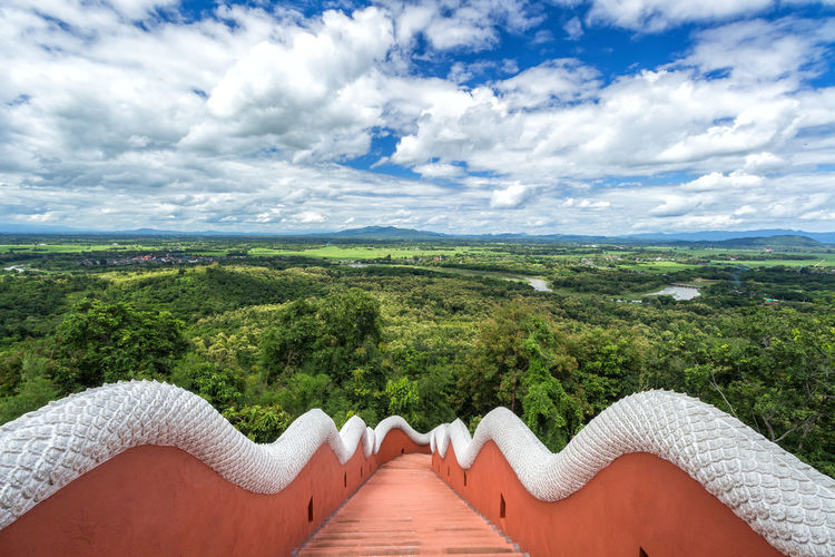Lampang Lampang Thailand Beauty In Nature Body Part Cloud - Sky Day Environment Horizon Idyllic Lampang Temple Lampang | Thailand Land Landscape Mountain Nature Non-urban Scene Outdoors People Plant Scenics - Nature Sky Tranquil Scene Tranquility Tree