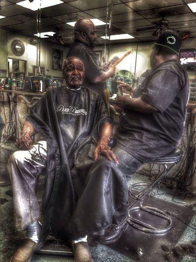 Barber Shop HDR Los Ángeles