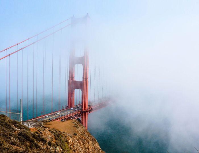 Uncovering iconic beauty Karlthefog  Karl  GoldenGateBridge Marinheadlands San Francisco Sunday Nikon D7100