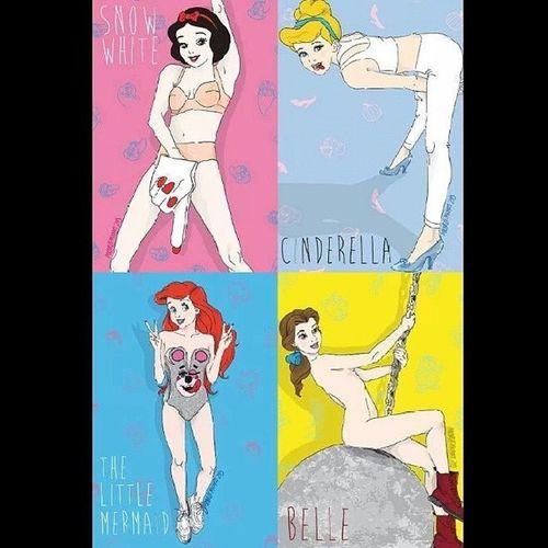 DisneyPrincesses Mileycyrusstyle
