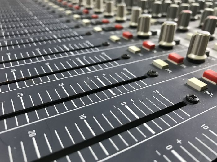 Audio Equipment Close-up Control Control Panel Day Electronics Industry Indoors  Knob Mixing Music No People Radio Station Recording Studio Sound Mixer Sound Recording Equipment Stereo Studio Technology