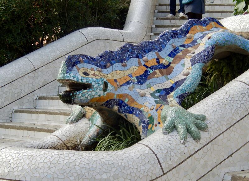 Art Arts Culture And Entertainment Barcelona Gaudi Gaudi Barcelona Gaudì Architecture Work Park Sulpture