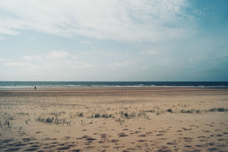 Landscapes With WhiteWall Hanging Out Enjoying Life Taking Photos Sand Beach Water Ocean Nature Traveler View Horizon Sky Sky And Clouds The KIOMI Collection