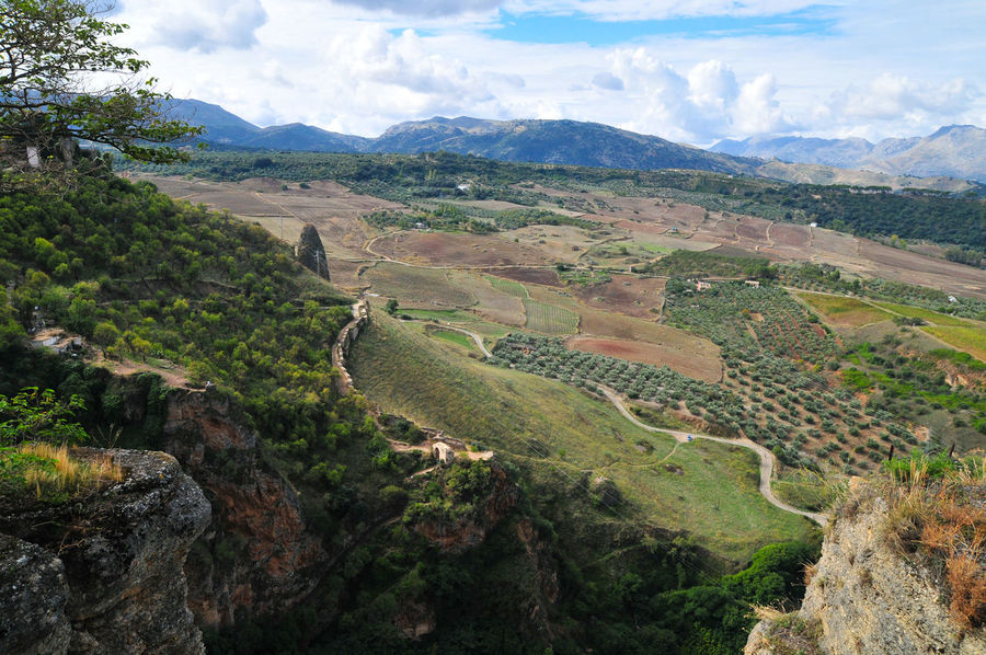 Edge Of The World The View from Ronda, Spain (from my archive)
