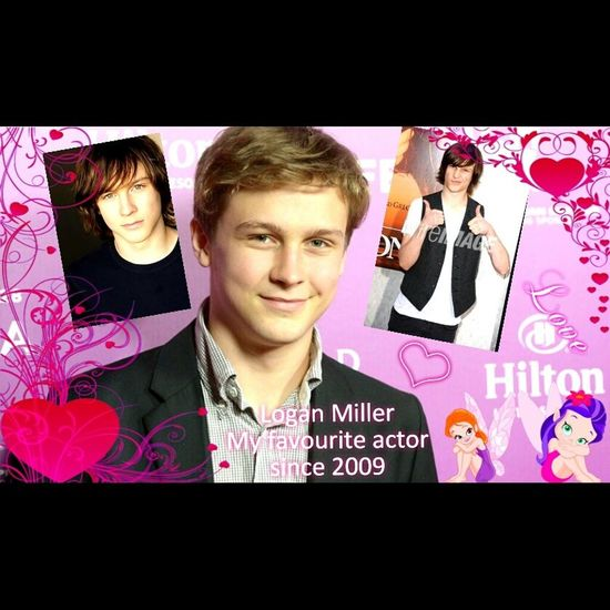♥♥♥♥ Logan Miller my favourite actor since 2009 ♥♥♥♥