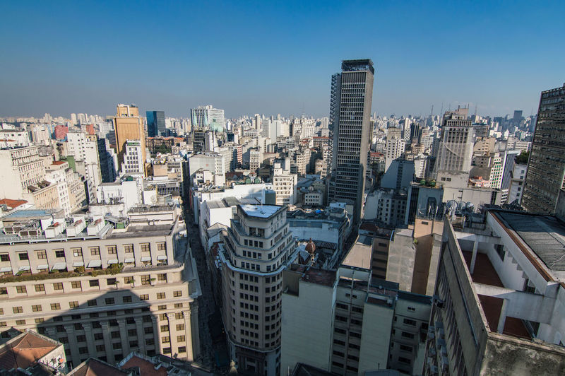 Architecture Building Exterior Built Structure City Cityscape Clear Sky Day Modern No People Outdoors Sampa Sky Skyscraper Travel Destinations Urban Skyline