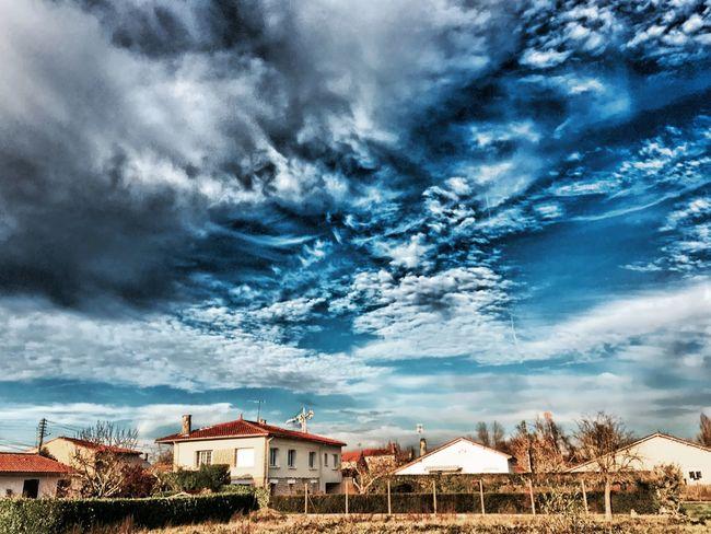 CIELFIE Skyfie Ciel Et Nuages Paysage Dans Ma Ville En Ville Ville City Nuages Clouds And Sky Clouds
