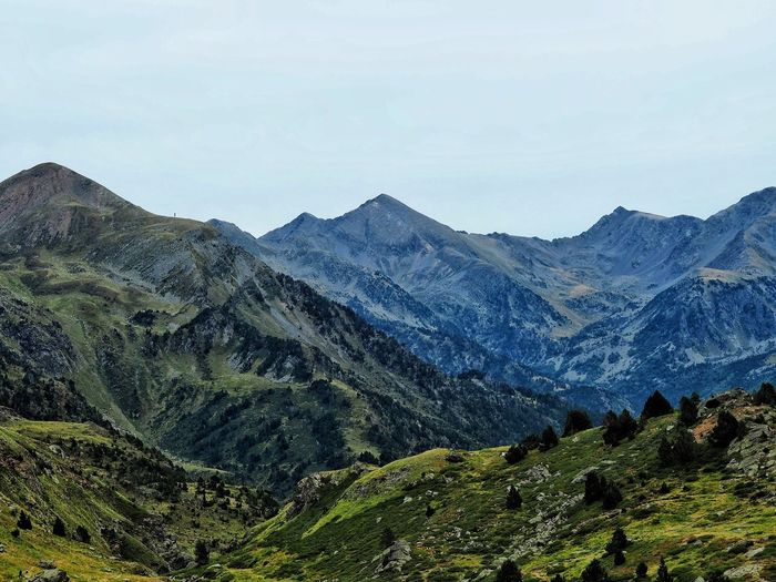 Ordino Remote Nature Sky Landscape Day Outdoors Tranquility Mountain Scenics Ordino Beauty In Nature No People Tranquil Scene Mountain Range