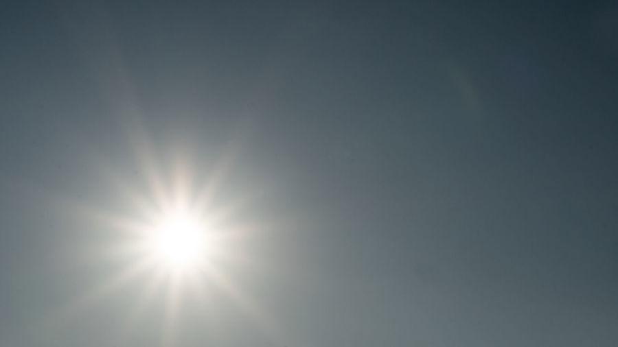 The sun has a