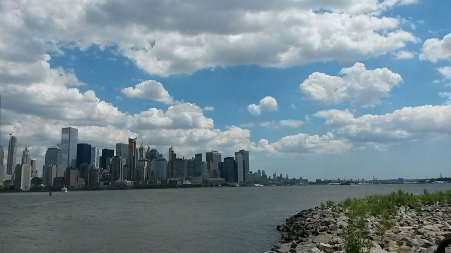 Cityscapes Liberty State Park Newyorkcity Hudson River NYC New York Harbor