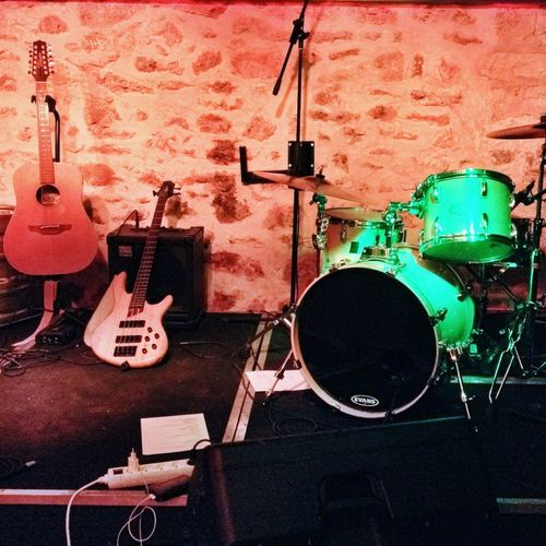 """Yesterday Night. Waiting for The """"Think Tank"""" gig. Band Rock'n'Roll Concert"""