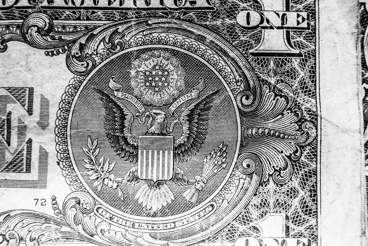 Representation Architecture Close-up No People Finance Backgrounds Religion Belief Paper Currency The Past History Spirituality Art And Craft Pattern Full Frame Eagle Craft Currency Carving - Craft Product Creativity Ornate Engraved Image