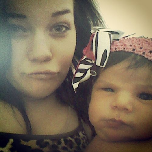 Mean muggin Mommybaby Weloveus Princessangel Squintyeye sillygirlluffher