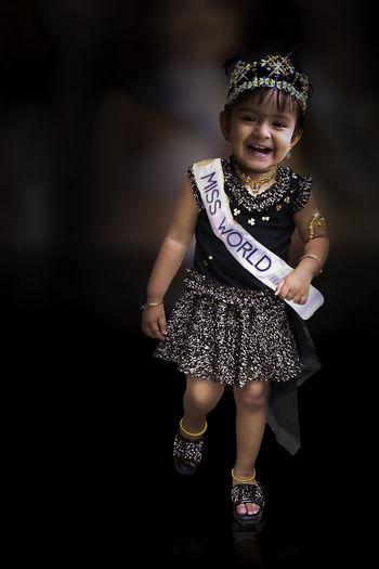 Model Beauty Babygirl baby pageant Ramp Ramp Walk Miss World
