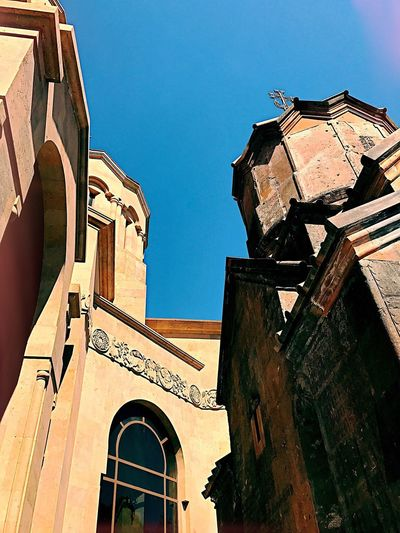 Architecture Built Structure Building Exterior Low Angle View Arch Outdoors Day No People Travel Destinations Sky Shushannaagapiphoto Mobilephotography Iphonephotography Shushannaagapi Church EyeEmNewHere