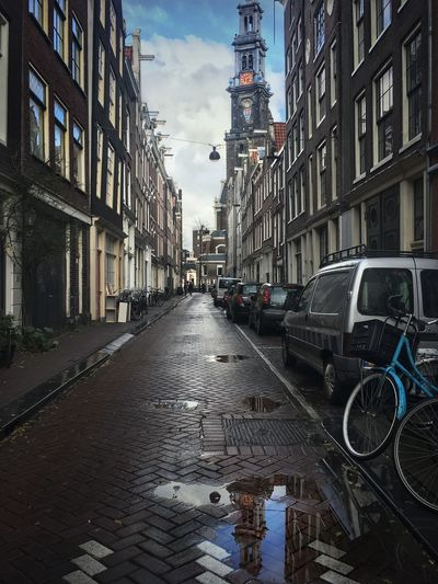 Amsterdam after