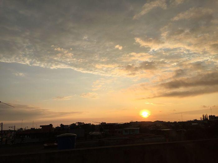Atardecer en Santo Domingo de los Tsachilas 💕💕❤️ Tsáchila Atardeceres Atardecer Beauty In Nature Cloud - Sky