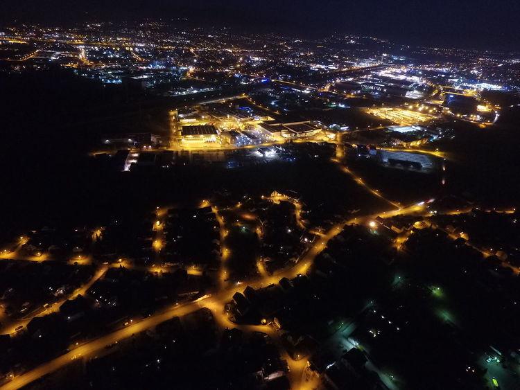 Night No People Galaxy Nachtaufnahme Dijphantom Drohne Drohnenflug Offenburg Germany