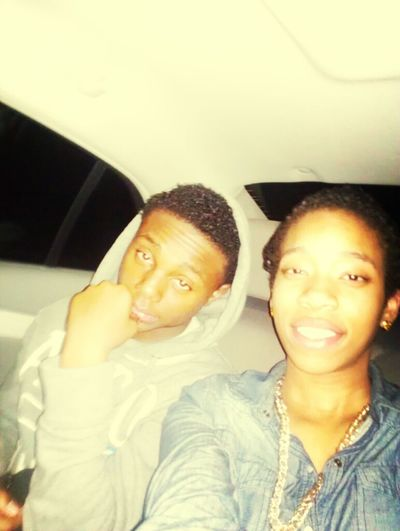 Me and my bestfriend/brother after the party!!